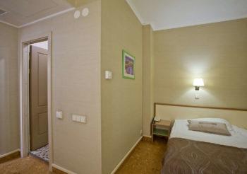Стандарт одноместный - фото номера в отеле Камея на фонтанке в Санкт-Петербурге на официальном сайте гостиницы