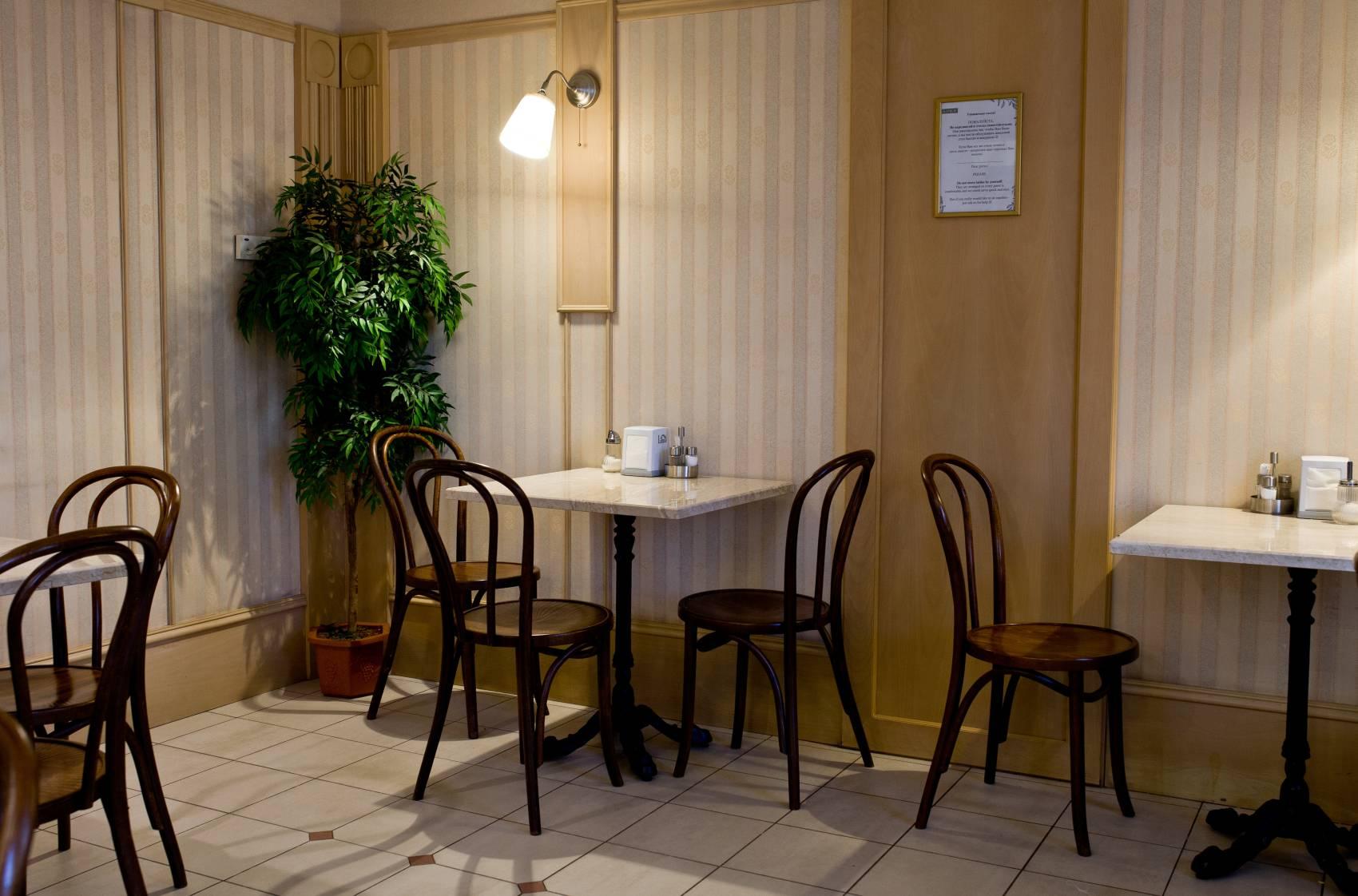 Кафе в отеле Камея на фонтанке