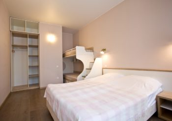 Двухкомнатные апартаменты - фото апартаментов Камея на каменноостровском пр. 40 в Санкт-Петербурге на официальном сайте гостиницы