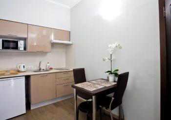 Номер - студия - фото апартаментов Камея на каменноостровском пр. 40 в Санкт-Петербурге на официальном сайте гостиницы
